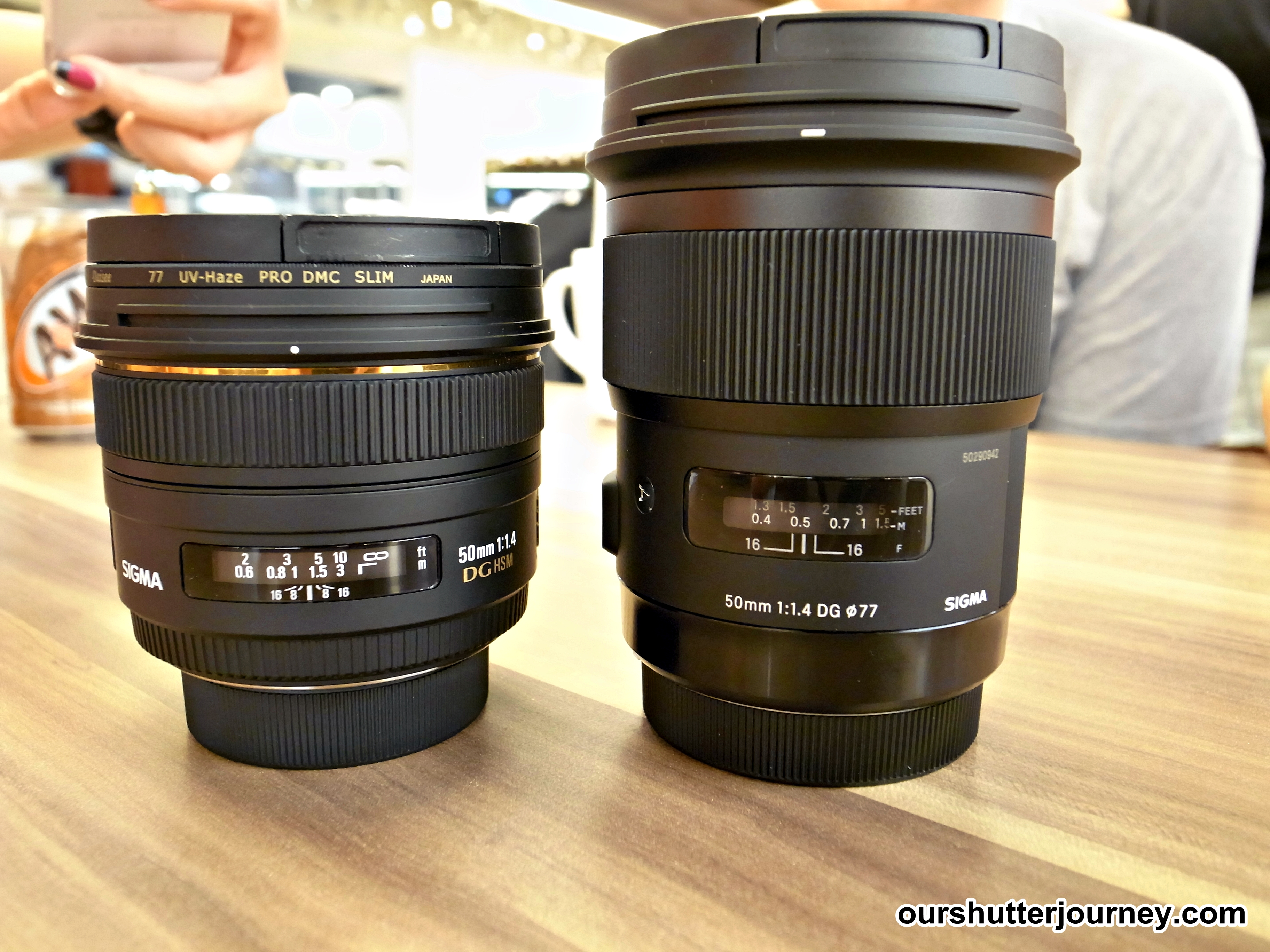 The New Sigma 50mm F1 4 Art Magic Shutter Journey Singapore